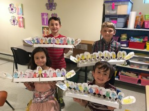 First Communion class 2017 - the Last Supper
