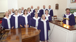 Our wonderful chancel choir!