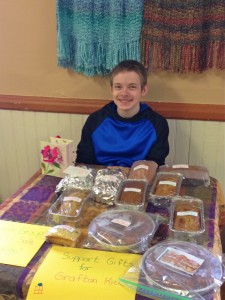 Youth group selling breads!